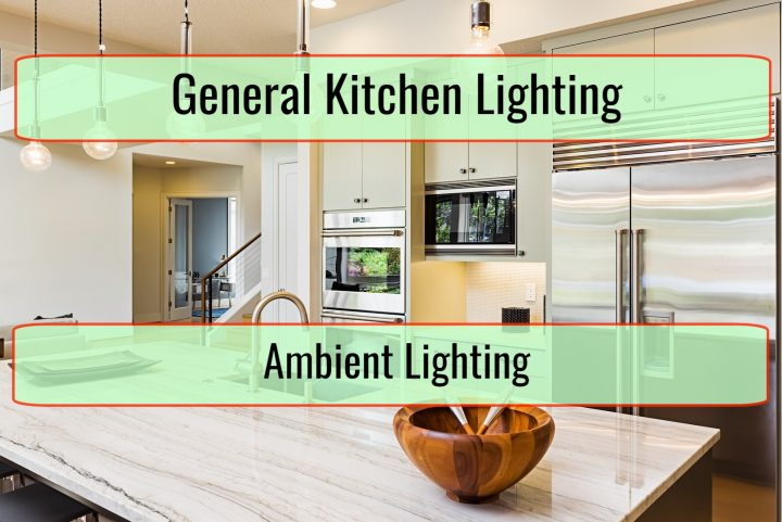 General Kitchen Lighting And Ambient Lighting