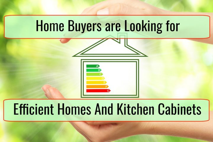Studies Show That Home Buyers are Looking for Energy Efficient Homes and Modern Kitchen Cabinets