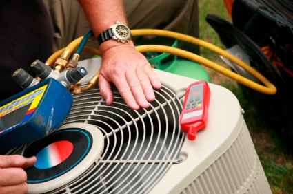 Servicing Air Conditioning