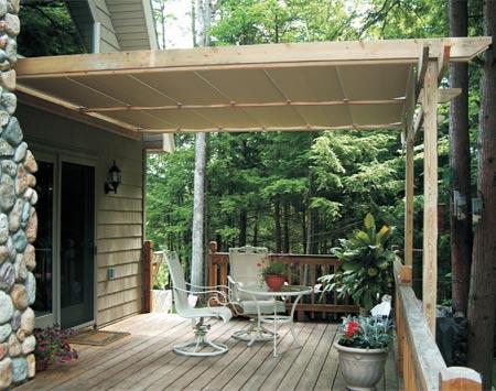 Partially Open Retractable Canopies
